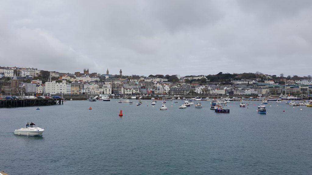 St.Peters Port, Kanaaleilanden, Jersey, Guernsey