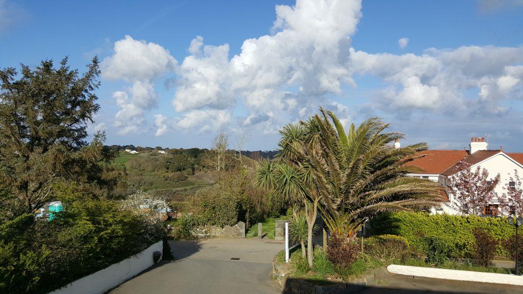 subtropische vegetatie, Kanaaleilanden, Jersey, Guernsey