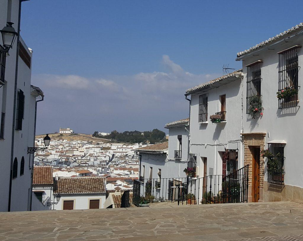 op reis met tieners, Antequera
