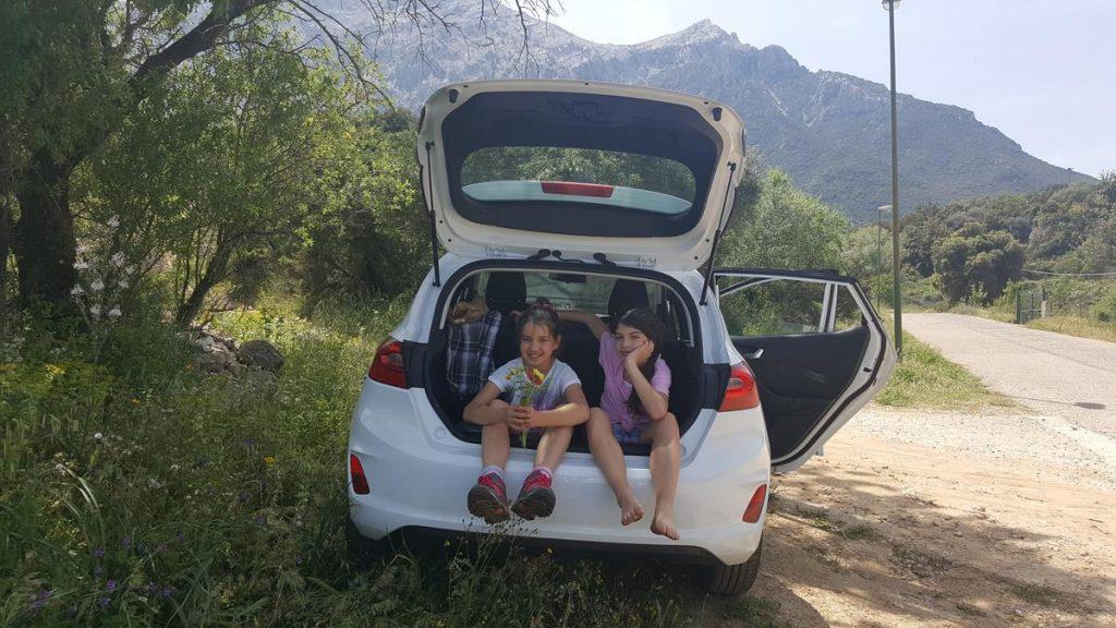 met pubers in de meivakantie naar Sardinie