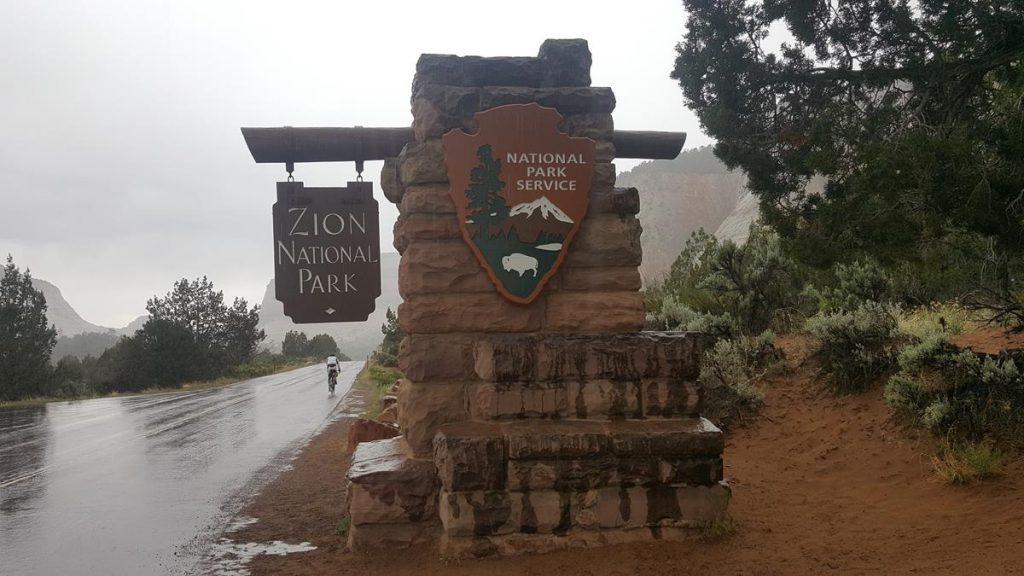 regen in Zion