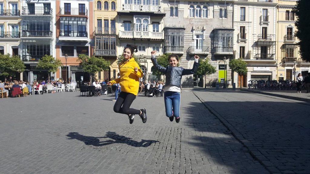 Sevilla, tieners,reizen met pubers, wanneer is mijn kind een puber, hoe weet ik dat mijn kind een puber is