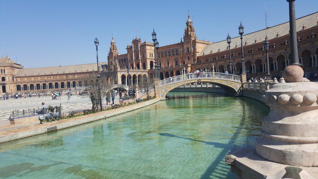 plaza de Espana, vakantie naar Spanje met kinderen