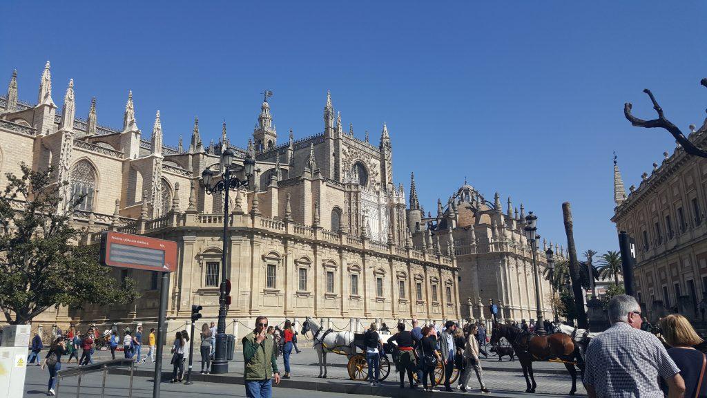 met pubers naar Spanje, Sevilla in de lente