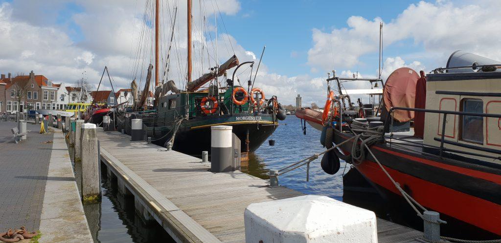 varen op een klipper, Nederland