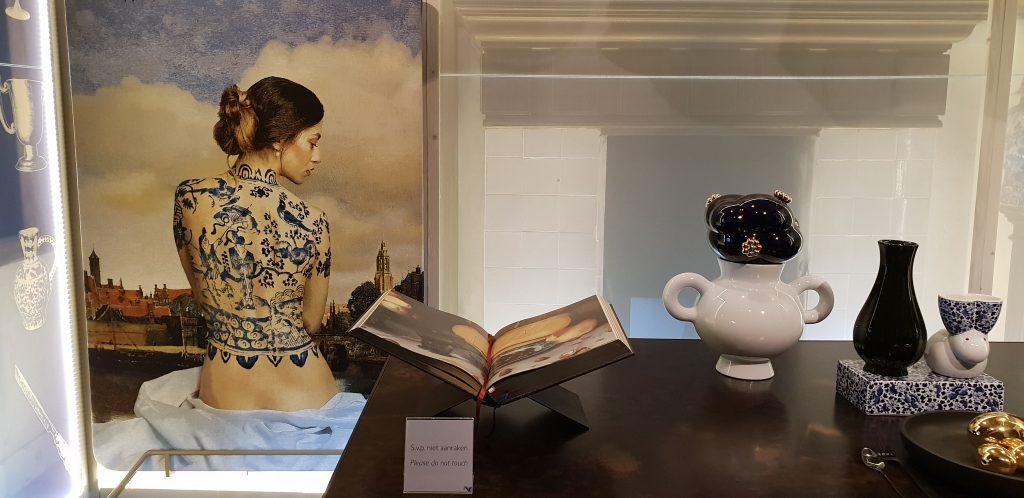 Porseleyne Fles, Royal Delft, tattoo, Delfts Blauw
