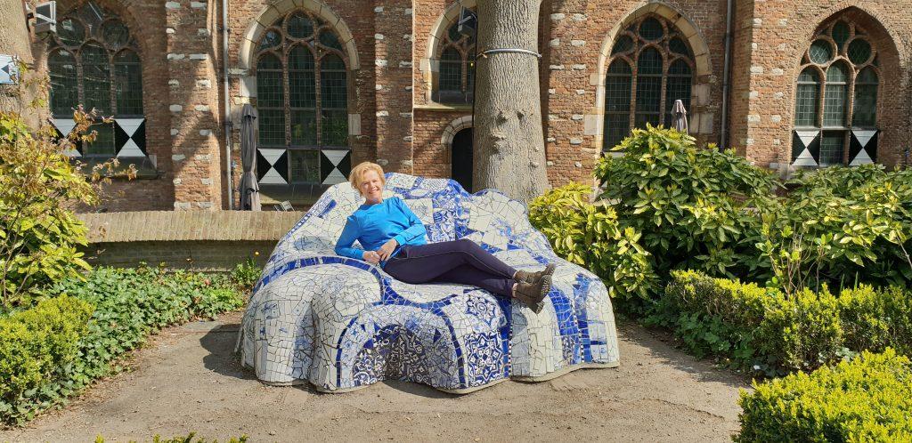 Prinsenhof, Delfts Blauw