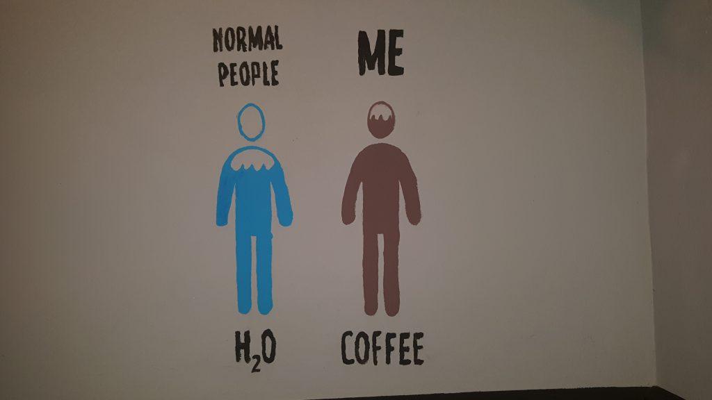 koffie drinken, Neef Rob