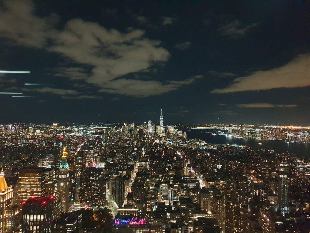 New York, Brooklyn Bridge, Skyline, travelblog, reisblog
