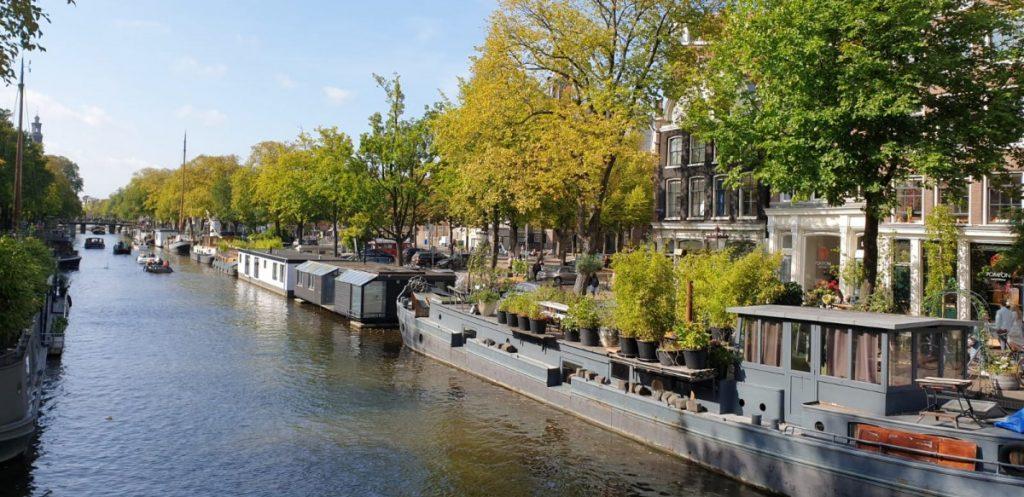 woonboten in Amsmterdam