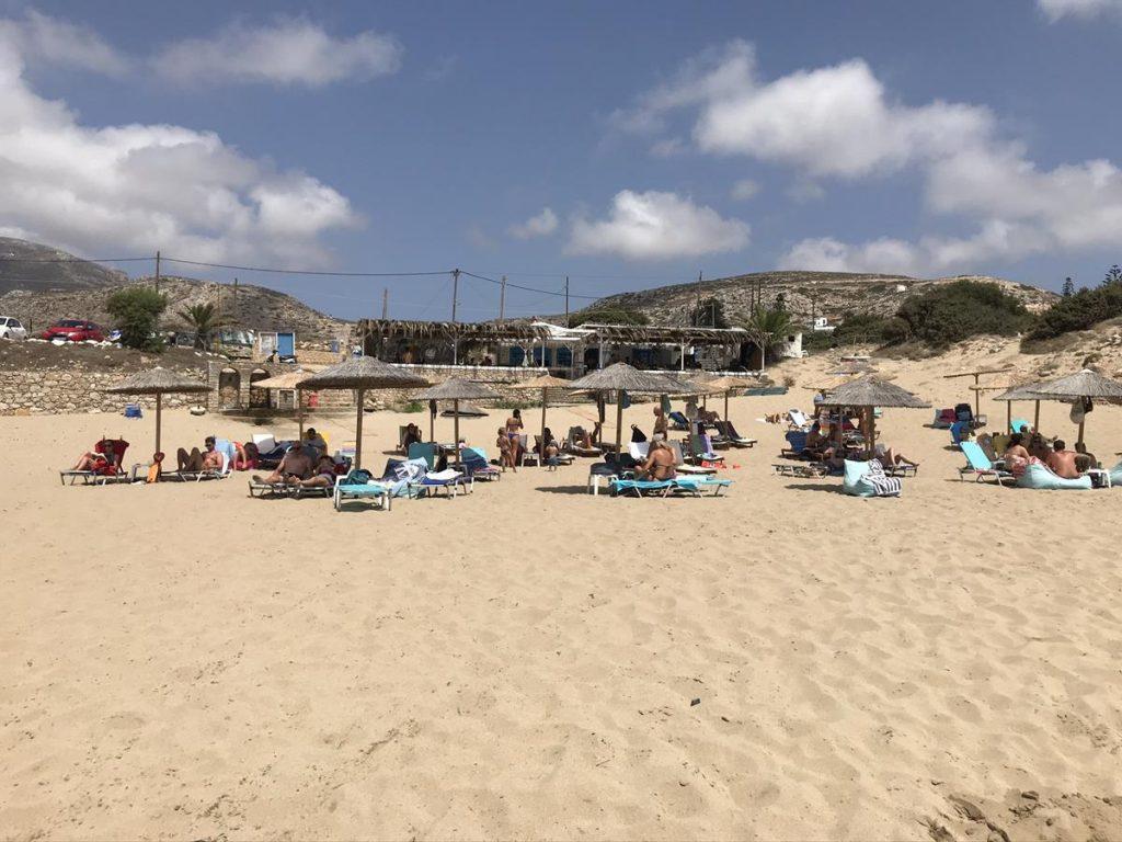 stranden van Karpathos