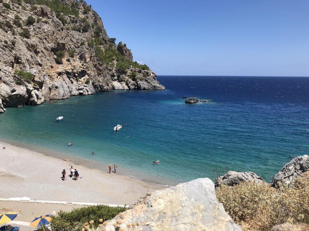Achata Beach, stranden van Karpathos