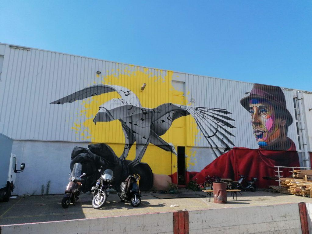 Street art, graffiti, Rotterdam, dagje uit, M4H