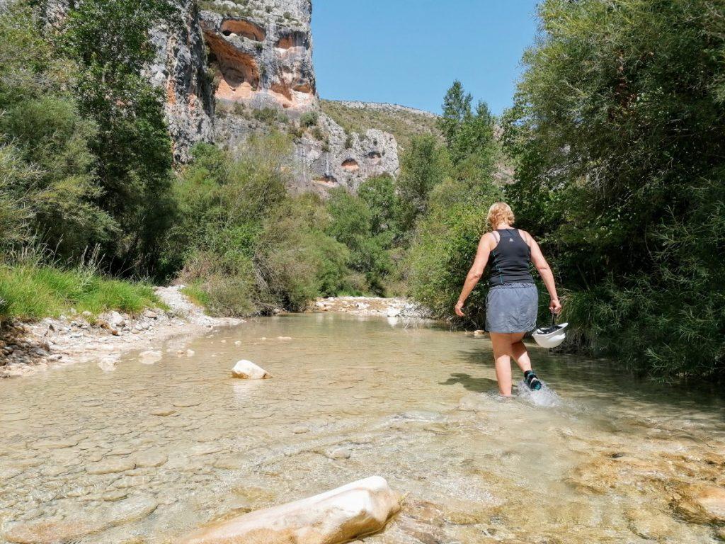 Aragon,Alquezar, vakantie met tieners, vakantie met pubers, outtdoor, actieve vakantie met kinderen, canyoning, reisblog, travelblog
