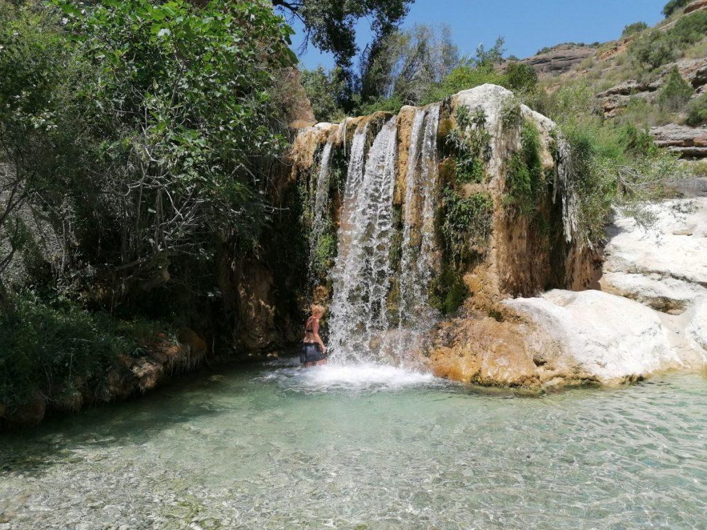 Aragon,Alquezar, waterval
