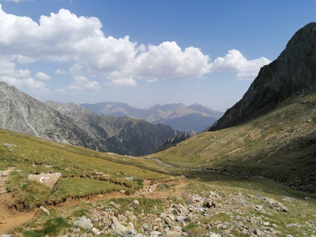 Aragon, Pyreneeen, Posets de maladeta, huttentocht, Spanje