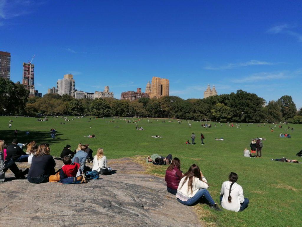Central Park, Skyline, New York, Midtown, citytrip, stedentrip, Amerika