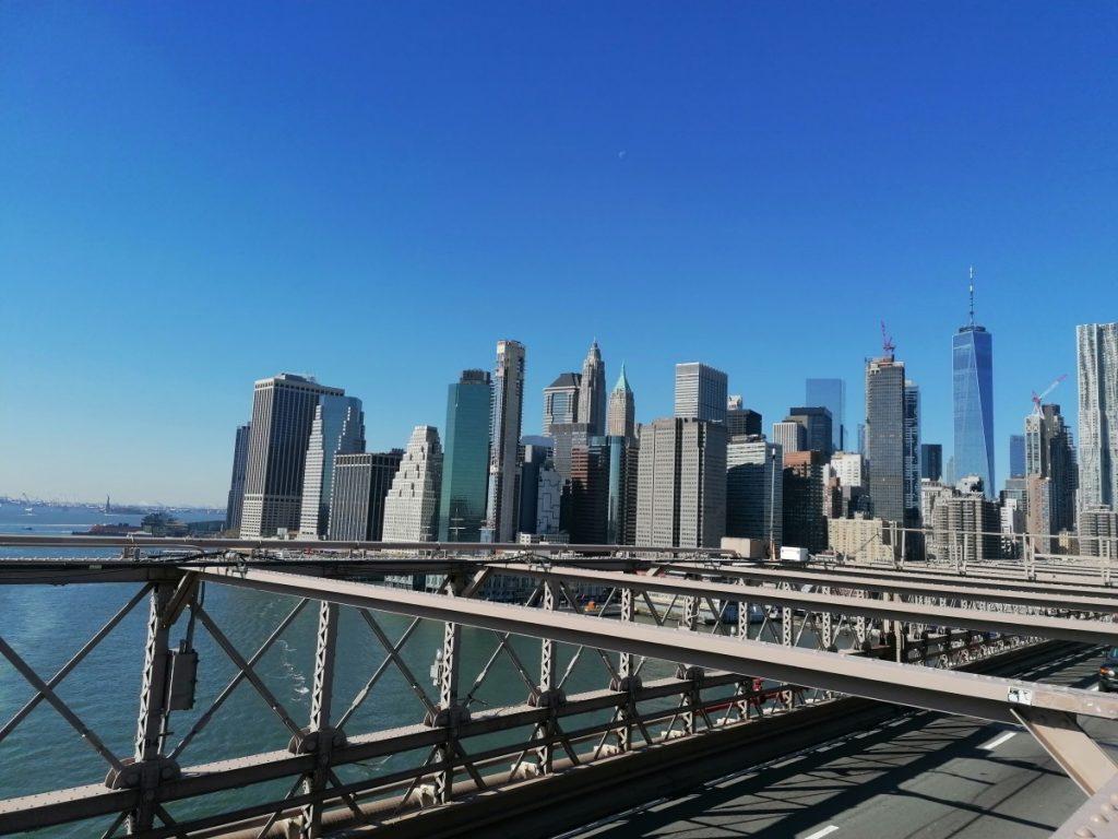 New York, citytrip, travelblog, reisblog, skyline, Brooklyn Bridge
