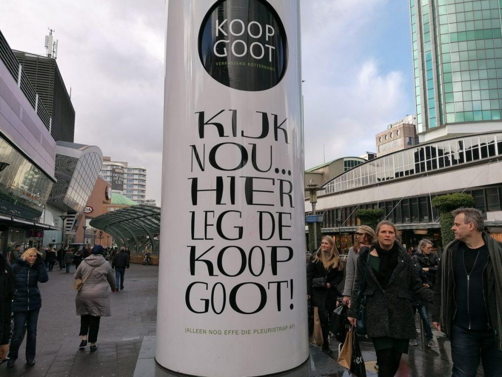 winkelen, koopgoot, rotterdam, travelblogger, holland, reisblogger,dagje uit