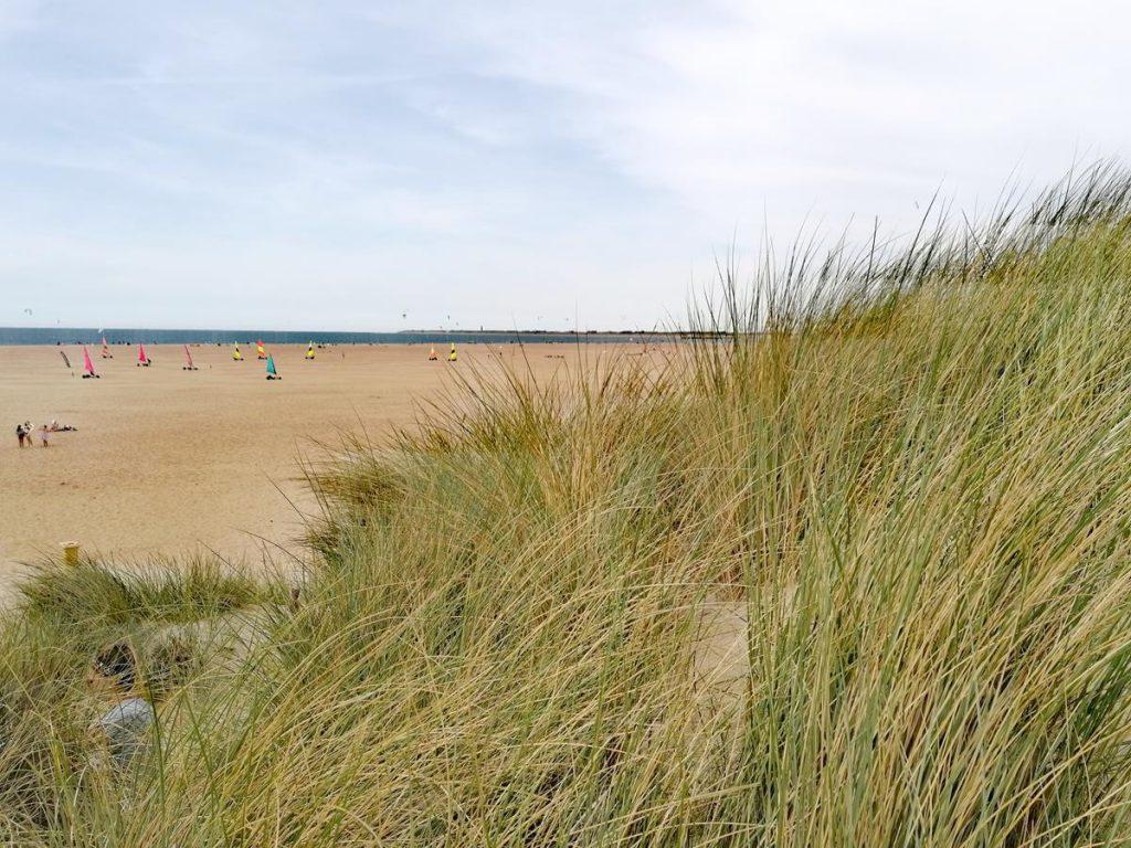 strand, zomervakantie in Nederland met pubers