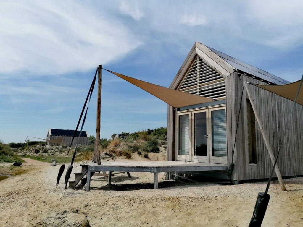 tiny house op de brouwersdam