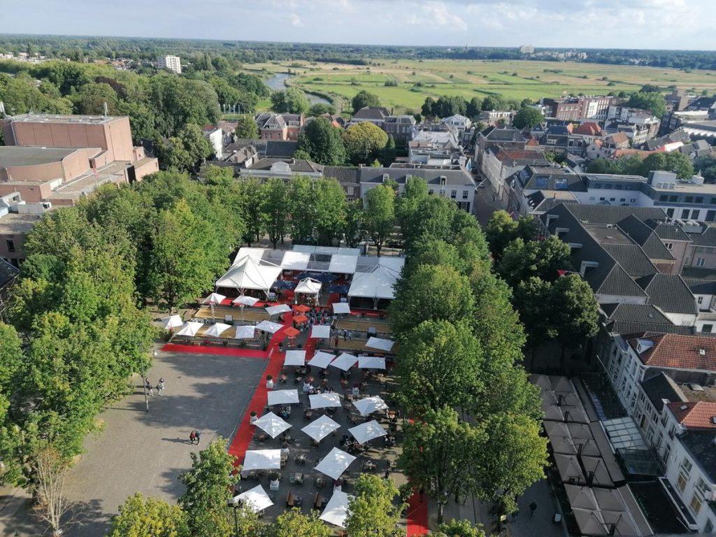 Bossche Broek, de Parade,uitzicht van de Sint Jan