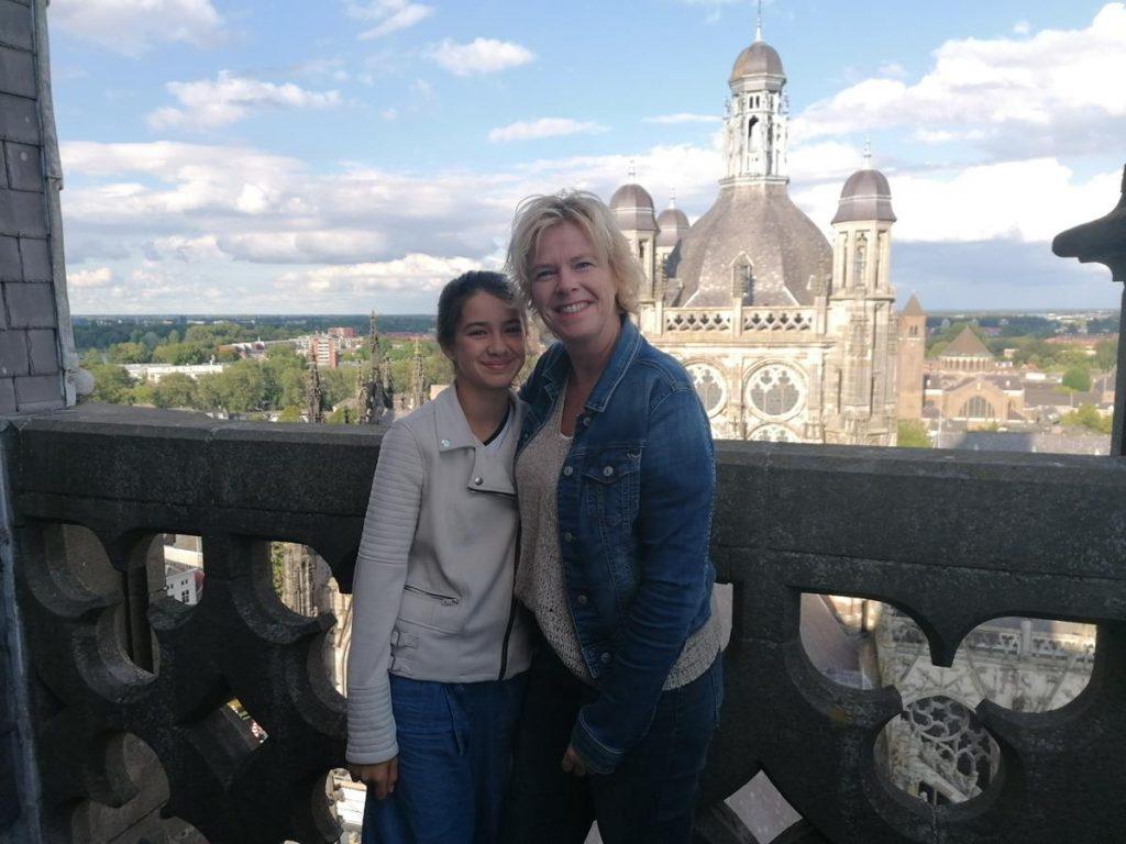 Den Bosch, uitzicht vanaf de Sint Jan, toren beklimmen