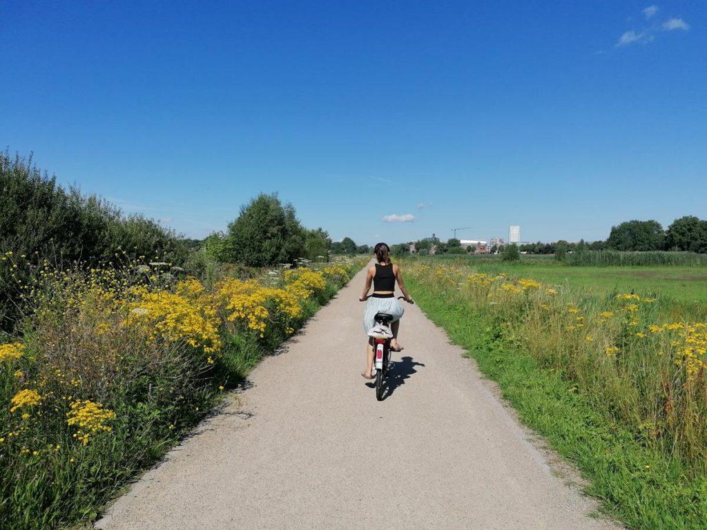 Weg met pubers, Bossche Broek, Den Bosch, natuur, stadsnatuur