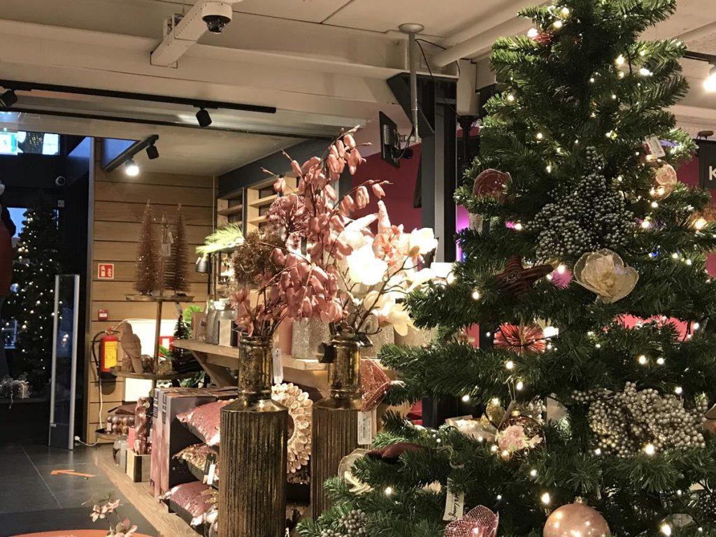 kerstsfeer bij Bomonte in Renesse