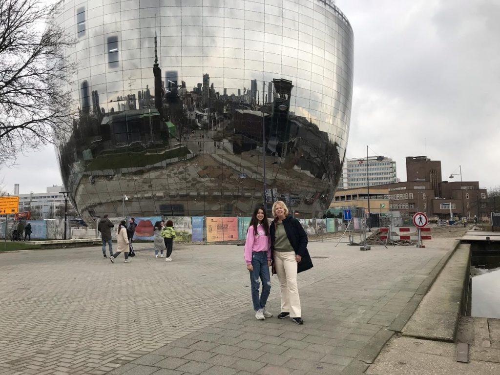 wandelen met tieners door Rotterdam