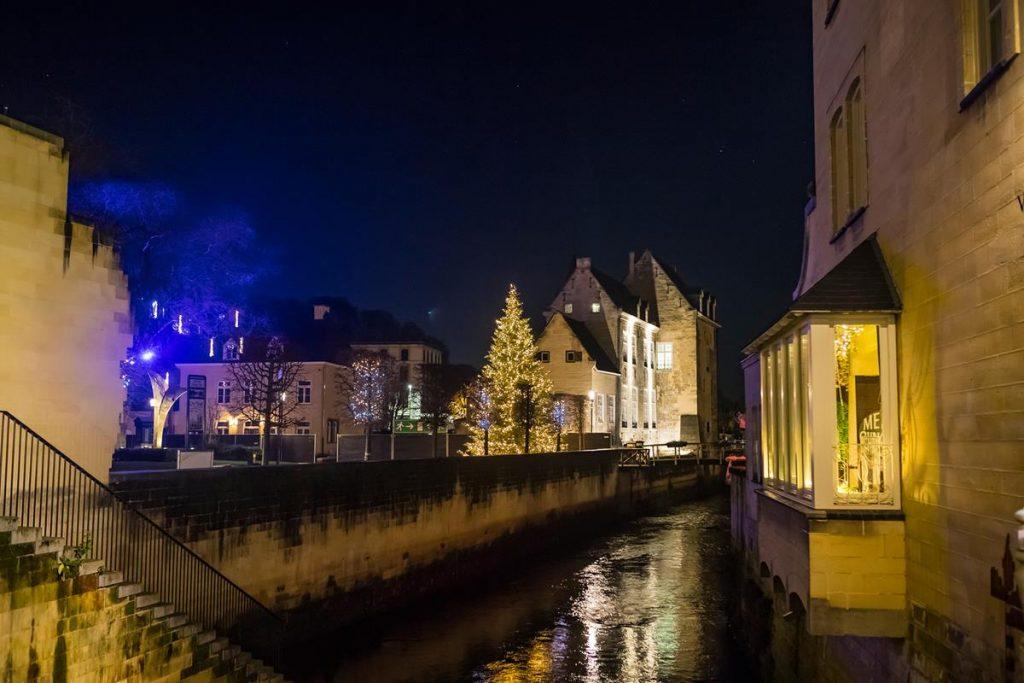Valkenburg in kerstsfeer