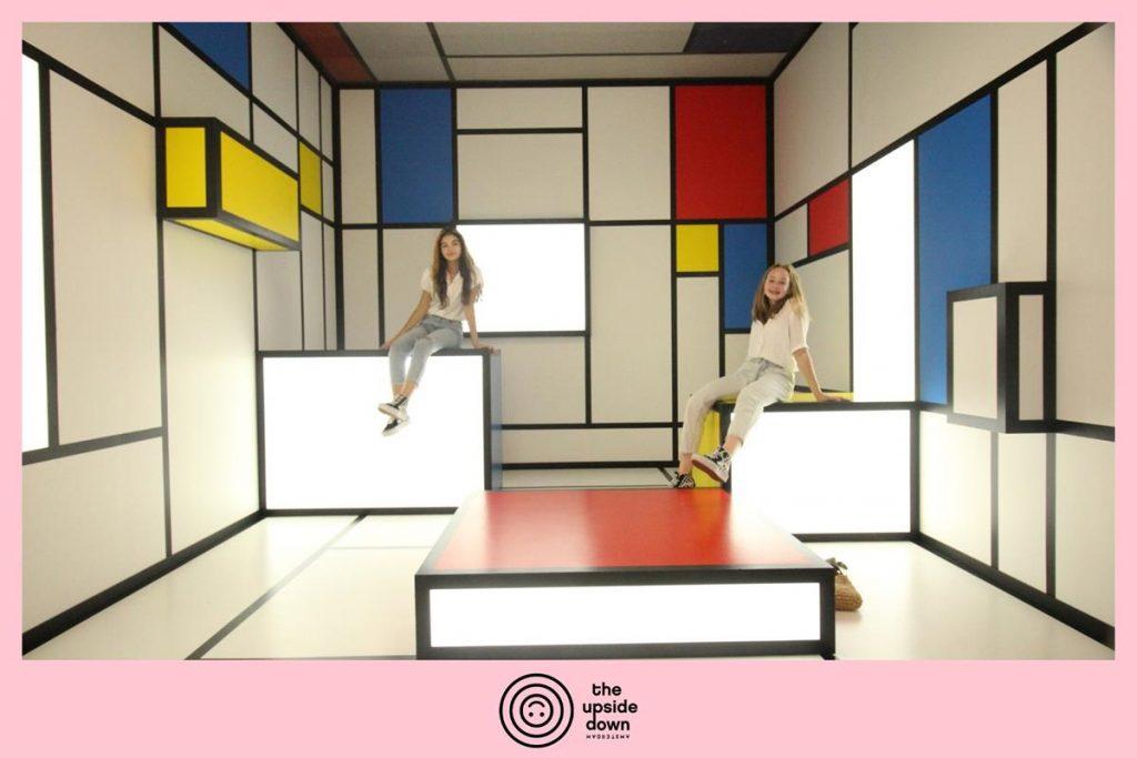 Mondriaan, insta museum, Amsterdam, instagram