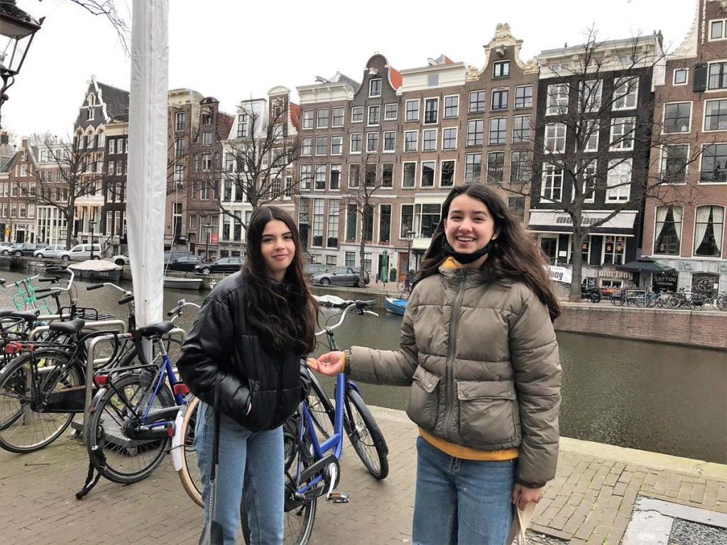 vakantie met tieners in Amsterdam